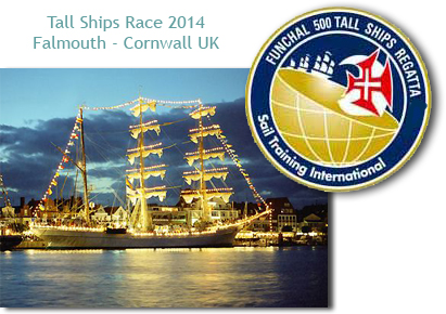 Tall Ship Race Falmouth Cornwall 2014 Honey Buzzard Barn Self Catering